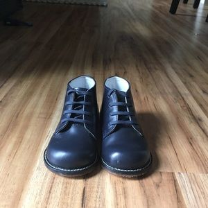 Toddler Navy Dress Shoes